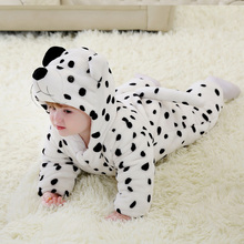 Snow leopard cosplay baby clothes for photograph