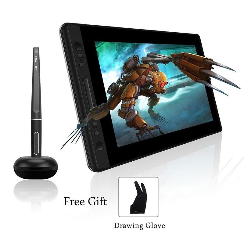 KAMVAS Pro 13 GT-133 stylo tablette moniteur numérique tablette avec fonction d'inclinaison et sans batterie stylet et 8192 stylo pression
