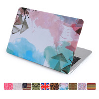 For Apple Macbook Air 11 13 Pro 15 Retina Case Hard Plastic Full Protect 10 Colors