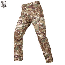 Hunting Tactical Shark Skin Soft Shell Military Pants Men Waterproof Heat Reflection Sport Outdoor Trousers Army Cargo мастер класс вокала