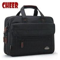 2017 Hot Fashion Men Handbag Bag Business Laptop Briefcase File Bags High Capacity Famous Brands Shoulder
