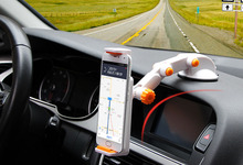 Dashboard Suction Tablet GPS Mobile Phone Car Holders Adjustable Foldable Mounts Stands For Nokia Lumia 610
