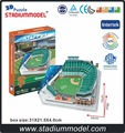 MajorLeagueBaseball MLB San Francisco Giants Home AT&T Center Stadium 3D Puzzle Model Paper