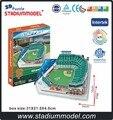 Majorleaguebaseball MLB сан-франциско джайентс дома at и t центр стадион 3D головоломка модель бумаги