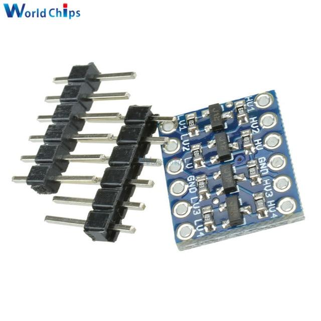 5PCS IIC I2C Logic Level Converter Bi-Directional Board Module 5V/3.3V DC For Arduino With Pins