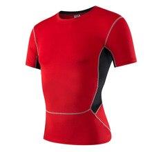 2017 Sportman Breathable Quick Dry Sport Shirt Elastic Quick-Drying Yoga Running Tops Jogging Gym T-shirt  Soft Fabric 022