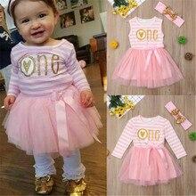 0-24M Baby Girl Dress Pink Lace Tutu Dress