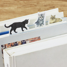 Buy 4 pcs/Lot Kawaii cat sticky notes Post it memo pad Cartoon Decorative sticker diary planner Office School supplies FM677 directly from merchant!