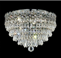 Crystal Ceiling Light Fixture Chrome Ceiling Light Lighting Lamp Width 40cm Guaranteed 100 Free Shipping