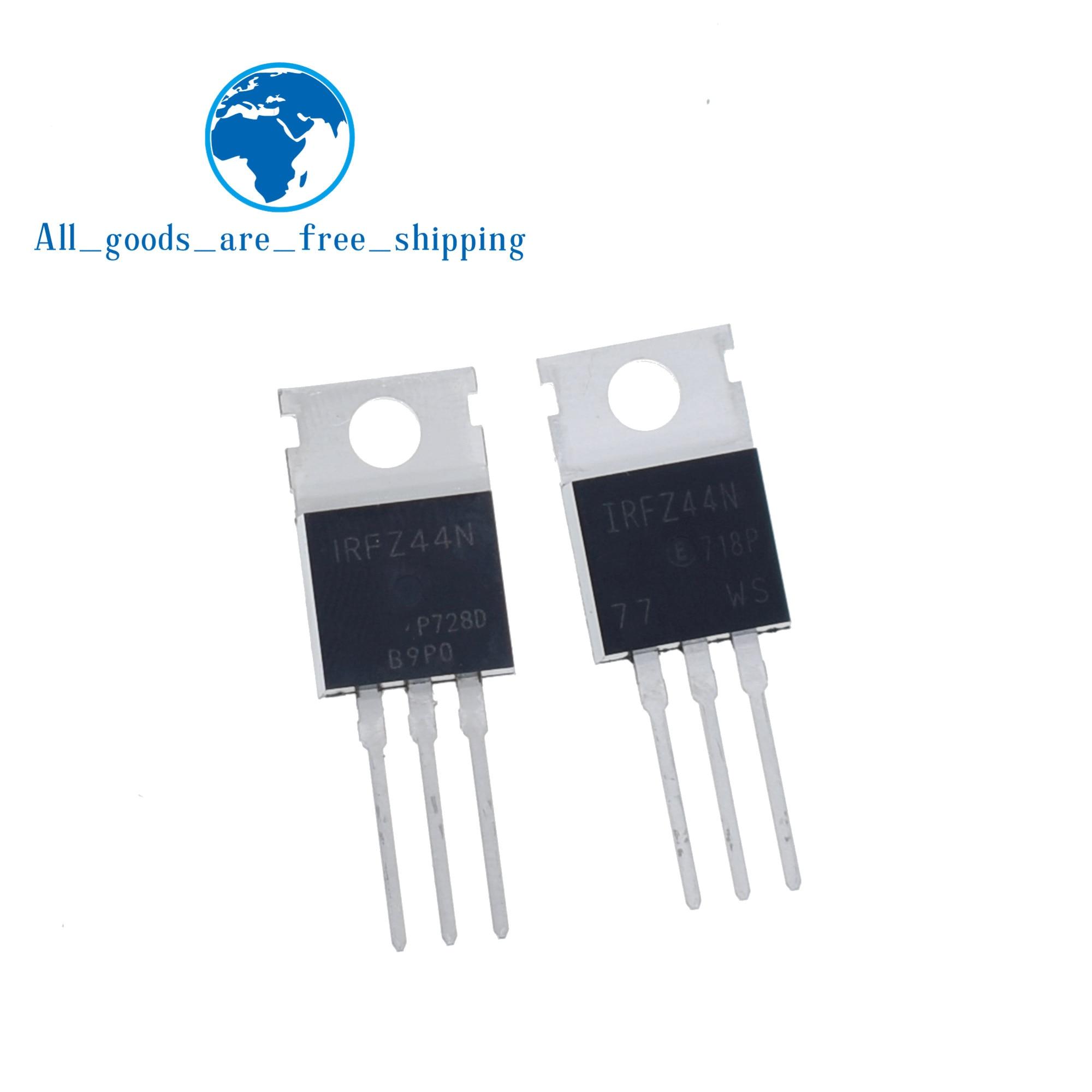 10pcs IRFZ44N IRFZ44 Power MOSFET 49A 55V TO-220