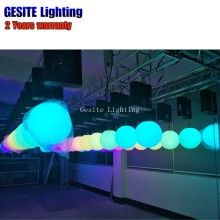 RGB colorful winch kinetic system Dmx Control winch lifting LED effect light indoor(China)