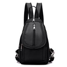 5061 женщин рюкзак ткань Оксфорд груди пакет женский диагональ нейлон водонепроницаемый слой мульти пакет отдыха и путешествий рюкзак