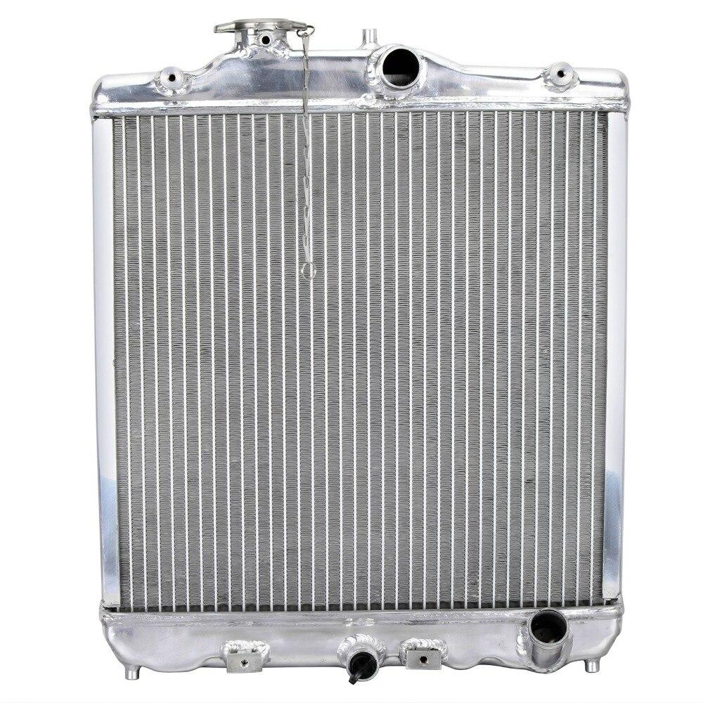 Car ALUMINUM RADIATOR FOR HONDA CIVIC MK4 1.6 / CRX MK2 MK3 1.6 VTI 1.6i MANUAL