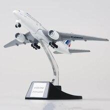 Koleksi 13 Cm Pesawat Model Mainan Air France Airlines Boeing B777 Pesawat Model Diecast Paduan Plastik Pesawat Hadiah untuk Anak-anak