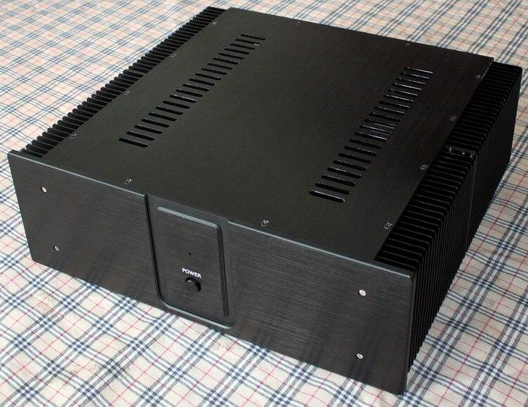 Caso 440*150*410mm WA30 Completo amplificatore alluminio telaio/Puro amplificatore fase/Classe A amplificatore/AMP Box/case/box DIYCaso 440*150*410mm WA30 Completo amplificatore alluminio telaio/Puro amplificatore fase/Classe A amplificatore/AMP Box/case/box DIY