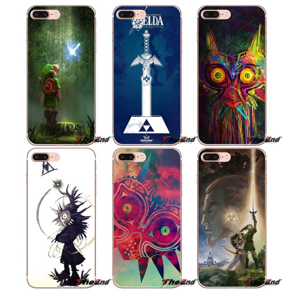 For Huawei P Smart Y6 Pro P8 P9 P10 Nova P20 Lite Pro Mini 2017 SLA-L02 SLA-L22 2i Legend of zeldas Majora's Mask Silicone Case