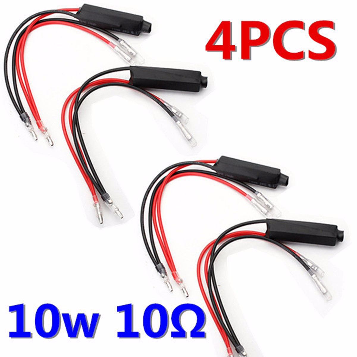 Adaptor Signal-Resistor Indicator Motorcycle Led Universal Turn 4pcs 12V Flash-Controller title=
