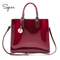 SGARR Brand Candy Color Big Casual Tote Women Bags High Quality Women PU Leather Handbags Shoulder Bag Fashion Messenger Bags