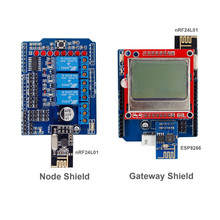 IoT Internet of Things Shields Kit for Arduino Build Your Own IoT World  (UNO R3, Mega 2560 or Nano are not included)