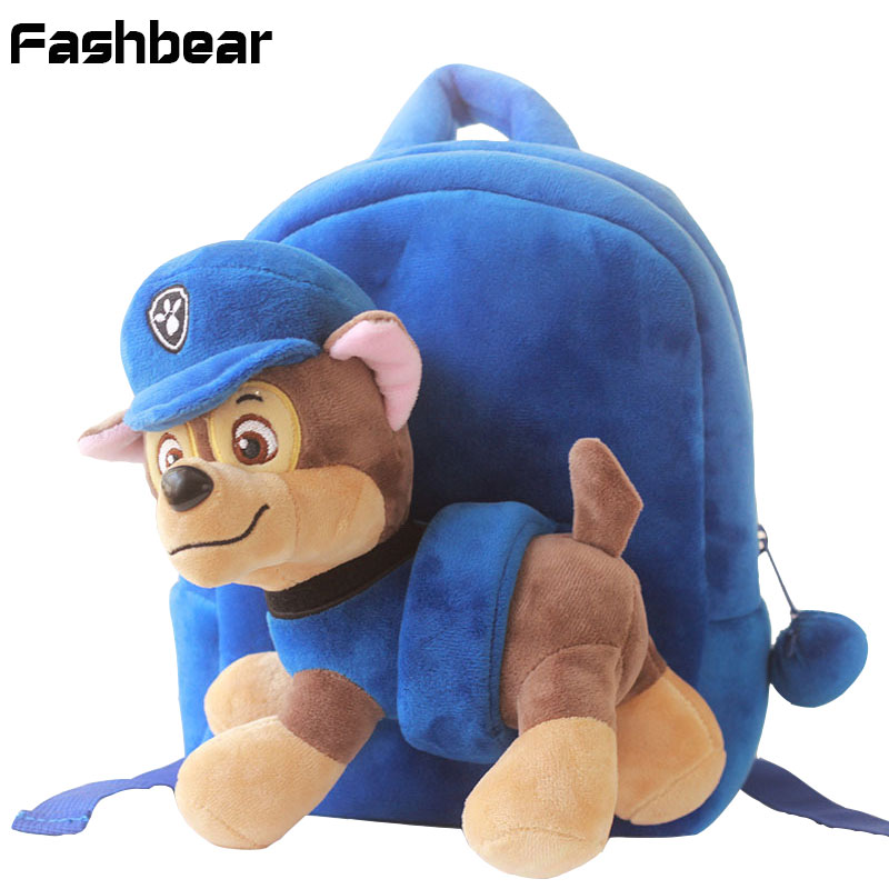 Kids Bag For Girls Cute Plush Dog Backpacks For Boys Preschool Bags Baby Toddler Backpack Kindergarten SchoolBags For Children promotion 6pcs bear baby crib bedding set crib sets 100