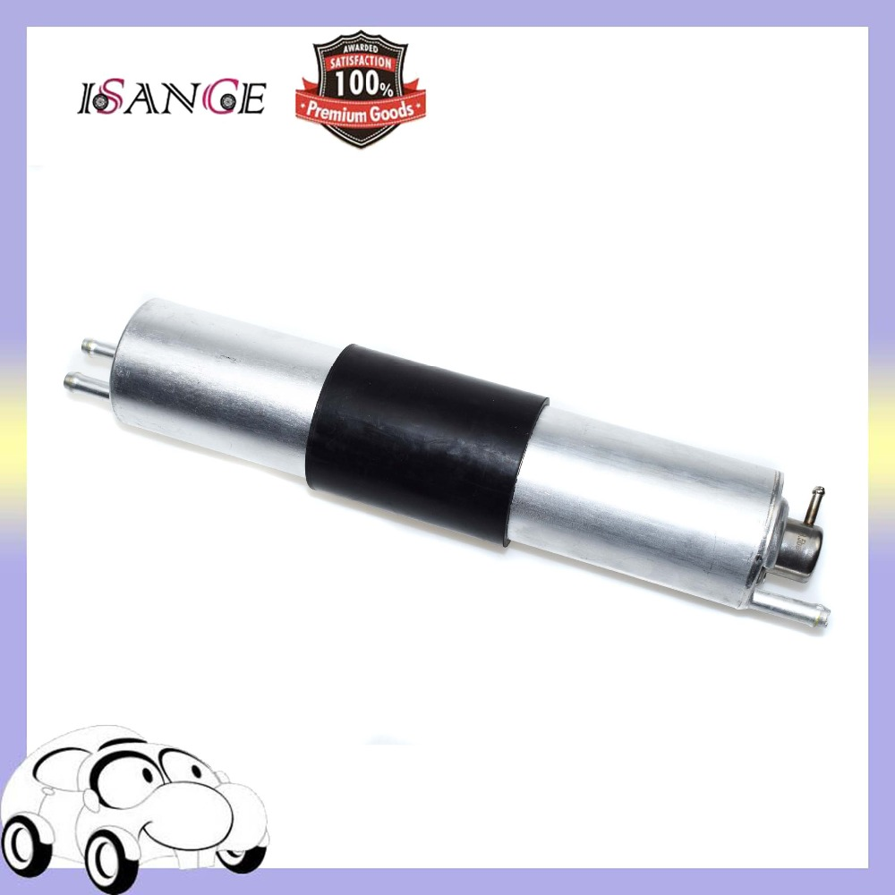 Car Fuel Filter Pressure Regulator Silver For BMW E46 325i 325Ci 325Xi 330i