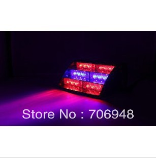 18LED Strobe Lights,emergency led light,red/blue color,4-6w,free shipping