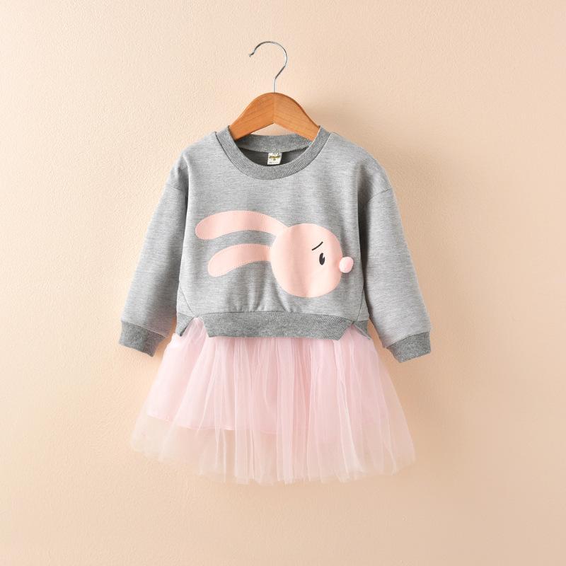 HTB1NbKJlDnI8KJjSszbq6z4KFXaZ - 2018 New Spring Children Princess Clothing Casual Long Sleeve Baby Kids Dresses for Girls 1 2 3 4 5 6 Year Toddler Girls Dress