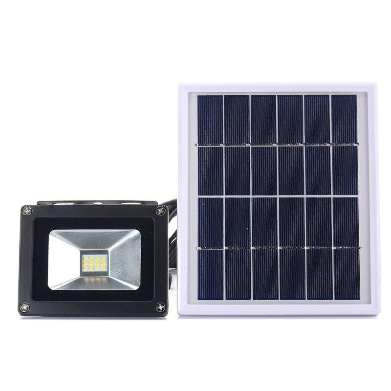 Солнечные Водонепроницаемый Сенсор 12 Солнечный свет 2835 smd прожектор светодиодный прожектор сад безопасности лампы 10 Вт