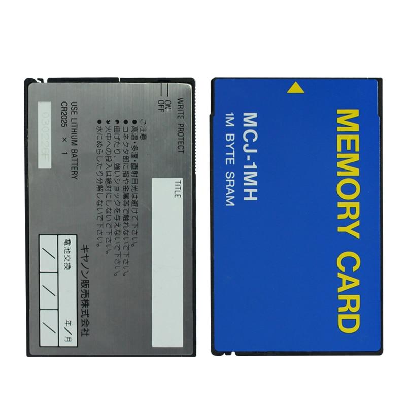 Original!!! 1 mo ATA carte mémoire 1 M octet SRAM carte PC carte mémoire MCJ-1MH
