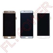 Untuk Samsung Galaxy S7 Tepi G935 LCD G935F G935A G935FD G935P LCD Display + Layar Sentuh Digitizer Perakitan; 100% garansi