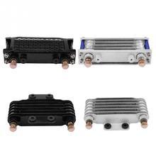 مبرد زيت محرك الدراجة النارية ، طقم نظام المبرد لهوندا CB CG 100CC 250CC ، أجزاء متينة