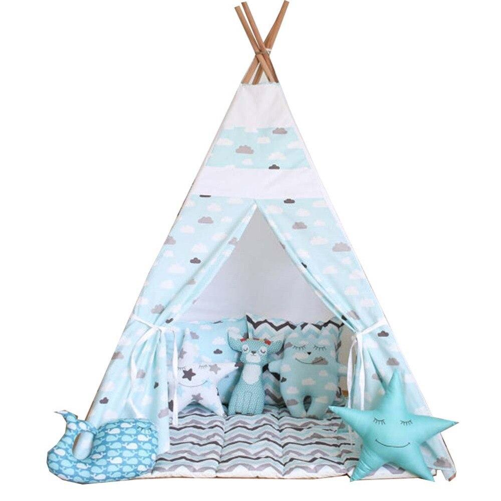 L\'amour libre @ bleu nuage enfants jouent tente tipi indien enfants ...