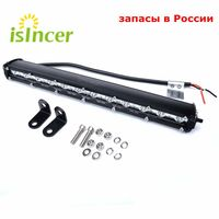 Car Styling13Inch with Cree Chips LED Car Work Light Bar 12V Day Lamp 36W 24V Tractor Work Lamp Spot DRL For Jeep BMW VW ATV ORV