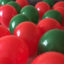 hot deal buy christmas balloons 50 latex ink green ballons 10 inch 2.2g round red helium ballon birthday wedding party supplies baby shower