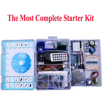 Electronic Diy Kit For arduino Uno R3 Basic Learning Suite With PDF / LCD1602/ Server Stepper Motor - DISCOUNT ITEM  20% OFF All Category