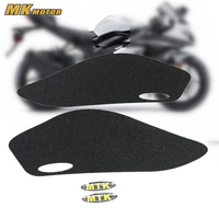 NINJA Gas Knee Grip Protector Tank Traction Pad Anti slip sticker Side 3M Decal Motorcycle For KAWASAKI ZX 6R ZX 6R 2012 2016