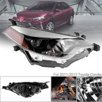 Durable Driver Side Car Headlight Universal LED Auto Headlamp Replacement for 2014 2016 Toyota Corolla