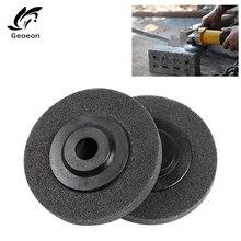 1 шт нейлоновые волокна полировки сыворотки абразивные инструменты 100*16 мм Нетканые абразивные колеса нейлоновые волокна Полировка Абразивный диск для колес A69