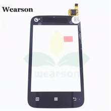 For Lenovo A278 A278T Touch Panel High Quality A278 A278T Touch Screen Digitizer Free Shipping With Tracking Number