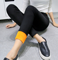 DropshipThink Velvet Slimming Pants Fashion Autumn Winter High Elasticity Trousers Leggings Warm Leggings Women Legging Pants