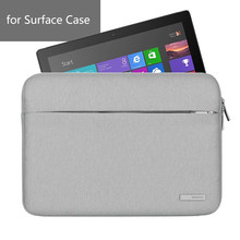 Nueva bolsa de ordenador portátil para Microsoft Tablet Surface Pro 3 4 5 funda impermeable 12 pulgadas Notebook Tablet manga para 3 de la superficie(China)