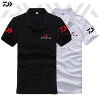 DAIWA 2018 Summer Speicial Fishing T Shirt Breathable Fishing Clothing Short Sleeve Quick Drying Anti UV Sun Protection Clothes