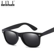 9a78b792ac1293 Danbihuabi Mode Grand Cadre lunettes de Soleil Polarisées Hommes Lunettes  Hommes Sport lunettes de Soleil 2018 New Safe Conduite.