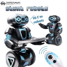 Интеллектуальный гуманоид роботизированной Дистанционное управление робот Smart балансируя робот 5 режимов работы робот собака домашних животных электронные игрушки