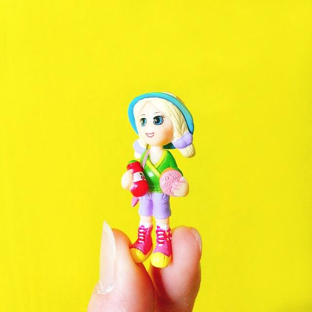 Sale~1 Pcs/little Girl On Picnic/miniatures/lovely Cute/fairy