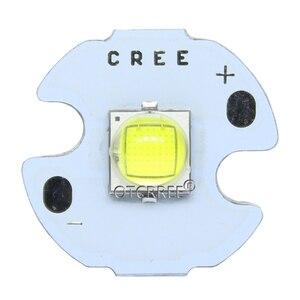 Image 2 - Светодиодный светильник Cree XLamp, 10 вт, холодный белый, 6500 к, высокая мощность, диодный излучатель, светодиодный светильник 16 мм, черный или белый цвет, печатная плата