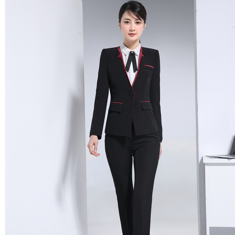 Autumn Winter Formal OL Styles Pantsuits Women Blazers For Office ...