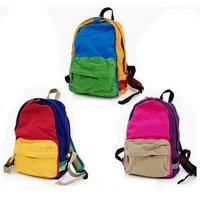 Candice Guo Brand New Hot Sale Colorful Backpack Children School Bag 1PC