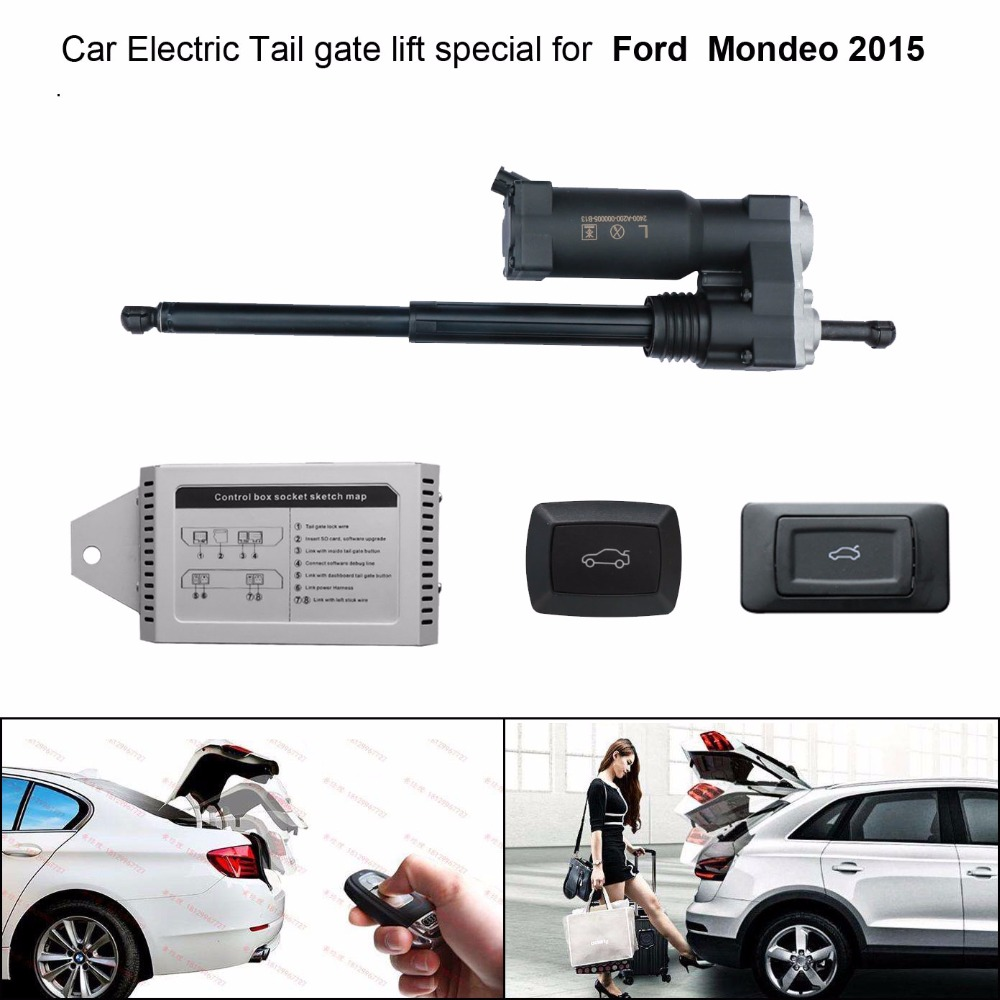 Smart Auto Electric Tail Gate Lift For Ford  Mondeo 2015 Control Set Height Avoid Pinch With Latch