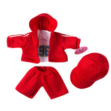 Happy Elfin Baby New Born Fit 18 inch 40-43cm Sportswear Boy Dolls clothes for Baby Doll Accessories Birthday Gift(China)